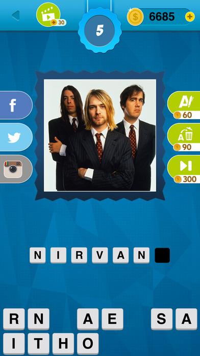 90's Quiz Game
